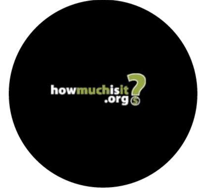 How Much is It Logo Round